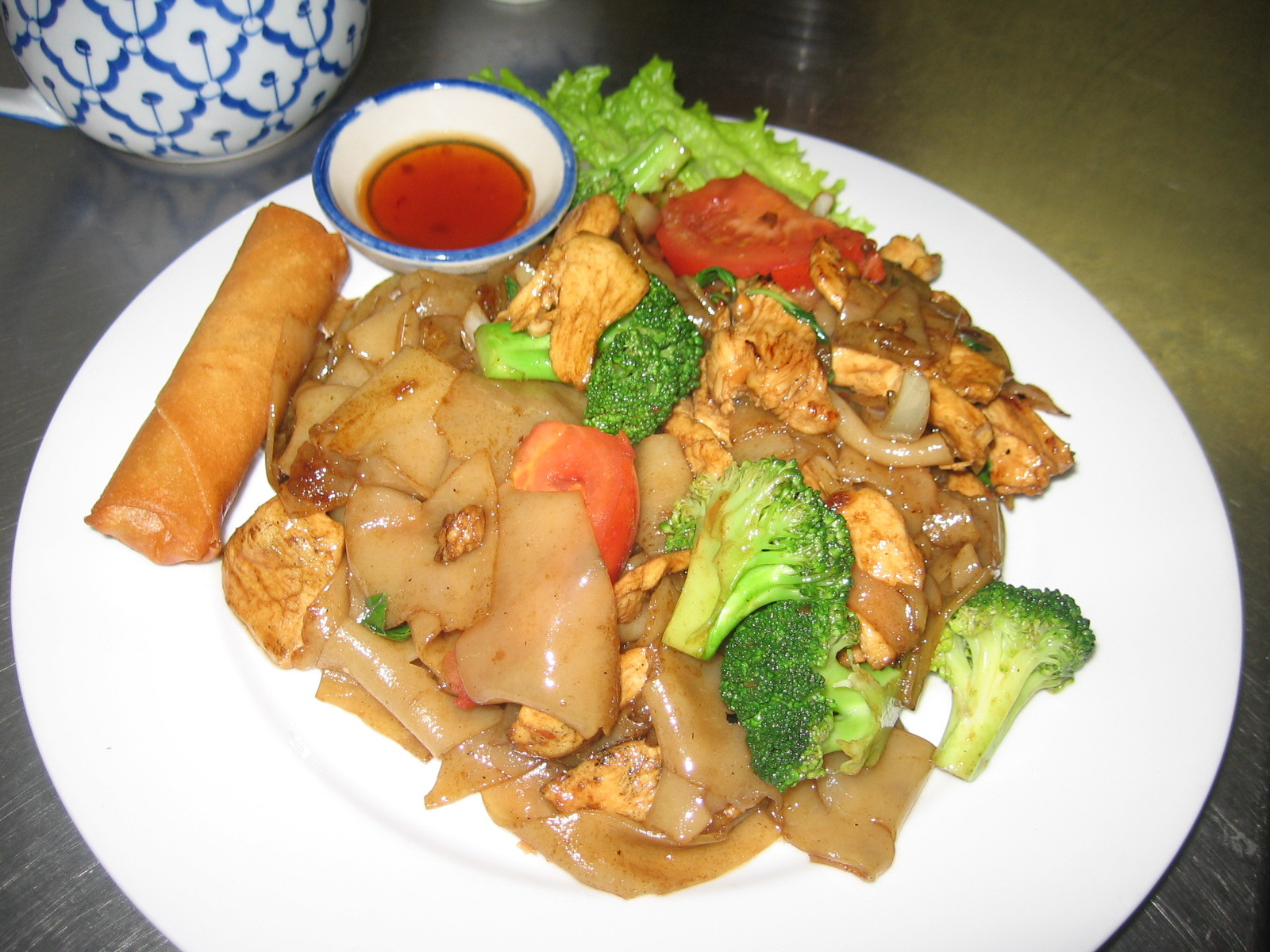 Pad Kee Mow (Basil Noodle)